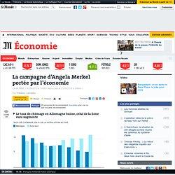 La campagne d'Angela Merkel portée par l'économie