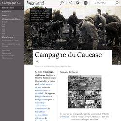 Campagne du Caucase