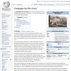 Campagne des Dix-Jours
