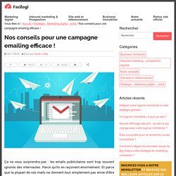Une campagne emailing efficace : comment s'y prendre ?
