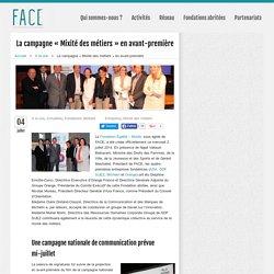 La campagne « Mixité des métiers » en avant-première « Fondation Agir Contre l'Exclusion