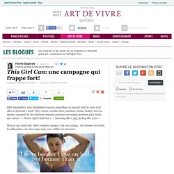 <em>This Girl Can</em>: une campagne qui frappe fort!