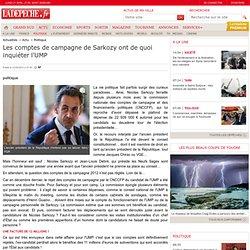 Les comptes de campagne de Sarkozy ont de quoi inquiéter l'UMP - 01/04/2013