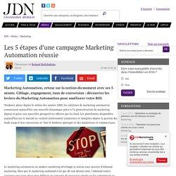Les 5 étapes d'une campagne Marketing Automation réussie