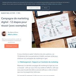 Campagne de marketing digital : 12 étapes pour réussir [avec exemples]