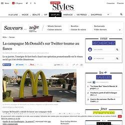 La campagne McDonald's sur Twitter tourne au fiasco