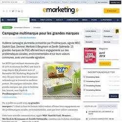 Campagne multimarque pour les grandes marques