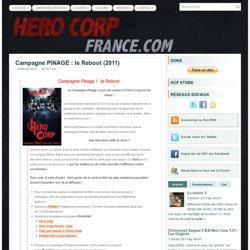 Campagne PINAGE – Pour une saison 3 de Hero Corp