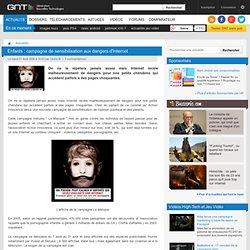 Enfants : campagne de sensibilisation aux dangers d'Internet