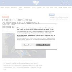 EN DIRECT - Covid-19: la campagne de vaccination a débuté au Royaume-Uni