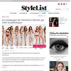 La campagne de Victoria's Secret qui crée la polémique