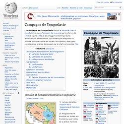Campagne de Yougoslavie
