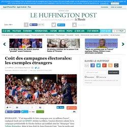 Coût des campagnes électorales: les exemples étrangers