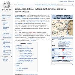 1890 Guerre des belges contre l'Islam esclavagiste