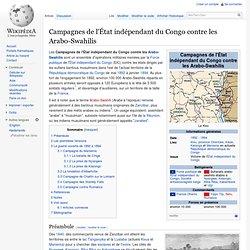 1892-1894 EIC contre les arabo swahilis