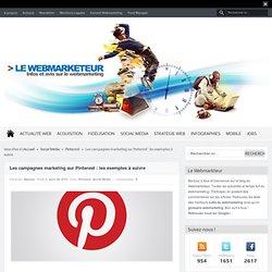 Les campagnes marketing sur Pinterest, les exemples à suivre