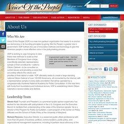 Campaign for a Citizen Cabinet