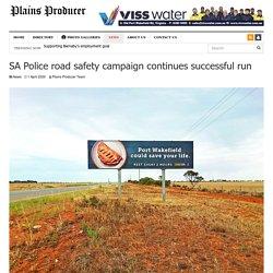 SA Police road safety campaign continues successful run