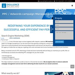PPC & Adwords Campaign Management Company in Dubai, UAE -Digillence Roslon