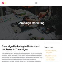 Campaign Marketing