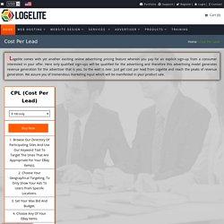 Cost Per Lead Campaign Service Company in USA - Logelite
