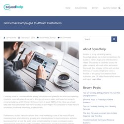 Best email Campaigns to Attract Customers