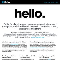 Delivr - Effortless sharing with a tricked-out, mobile-friendly URL.