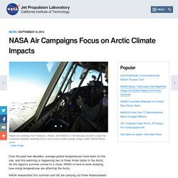 Air Campaigns Focus on Arctic Climate Impacts