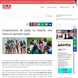 Campamentos de inglés en España: otra forma de aprender inglés