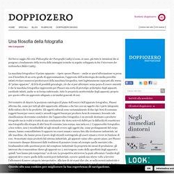 Vito Campanelli. Una filosofia della fotografia