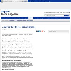 A day in the life of... Ann Campbell