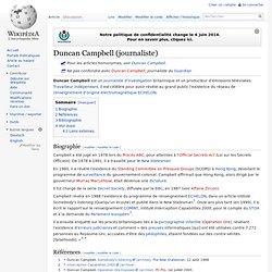 Duncan Campbell (journaliste)
