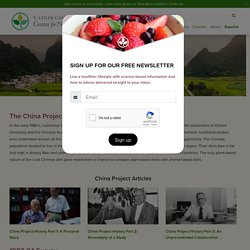 The China Study - T. Colin Campbell Center for Nutrition Studies