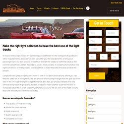 Light Truck Tyres Campbelltown - Campbelltown Tyres and Exhaust Center