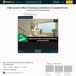 High-quality Office Cleaning in Salisbury & Campbelltown