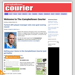 The Campbeltown Courier