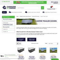 Best Camper Trailer Cover