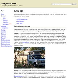 camperize.com: Awnings