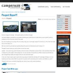 Small Van Campervan Conversion Project: Peugeot Bipper!!!