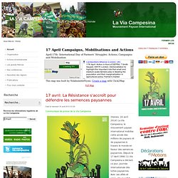 La Via Campesina: Mouvement Paysan International