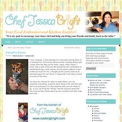 Campfire Cones - Chef Jessica Bright