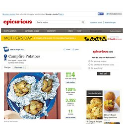 Campfire Potatoes Photo at Epicurious