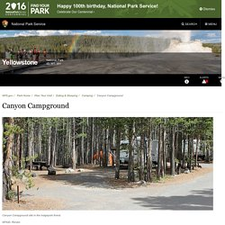 Canyon Campground - Yellowstone National Park (U.S. National Park Service)