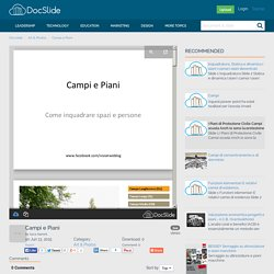 Campi e Piani - Art & Photos