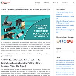 5 Best Cool Camping Accessories for Outdoor Adventures