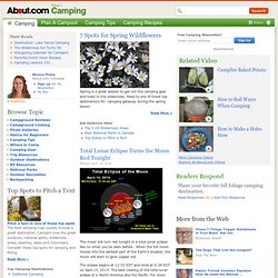 About Camping, Campground Reviews, Camping Recipes, Camping Gear and More