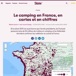 Le camping en France, en cartes et en chiffres