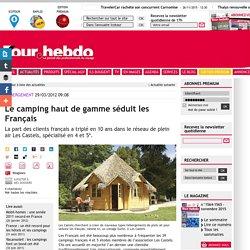 Le camping haut de gamme séduit les Français