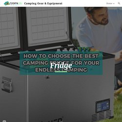 Camping Gear & Equipment - Camping Fridge