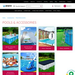 Camping Gear Pools & Accessories